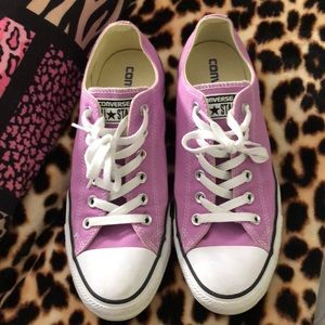 Converse All Stars Light Purple/Lavender sneakers